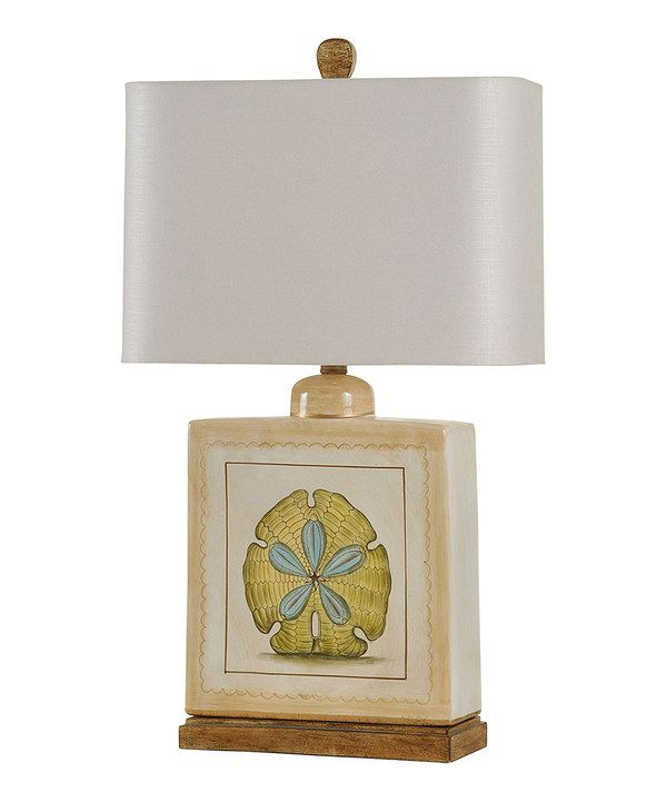 Look at this Sand Dollar Table Lamp on #zulily today!