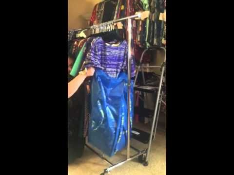 LuLaRoe how to pack an IKEA bag for pop up boutique - YouTube