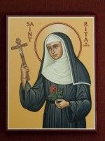 Icon of St. Rita