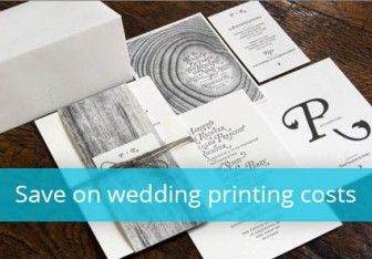 10 Tips to Keep Your Wedding Printing Costs Low