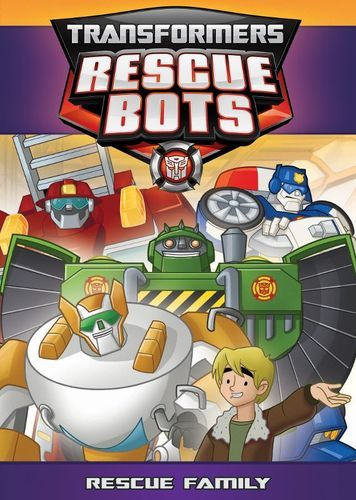 Transformers Rescue Bots - Rescue Family [DVD]