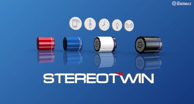 ENERMAX intros STEREOTWIN & STEREOSGL, Wireless Stereo Speakers