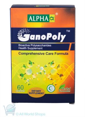 GanoPoly Comprehensive Care - Alpha  -  60 Capsules  | Shop New Zealand NZ$135
