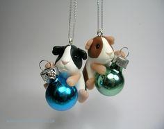 Little Bauble Guinea Pig Tree Decoration (£25)