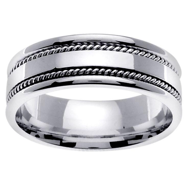14 best Mens wedding ring images on Pinterest Male wedding rings