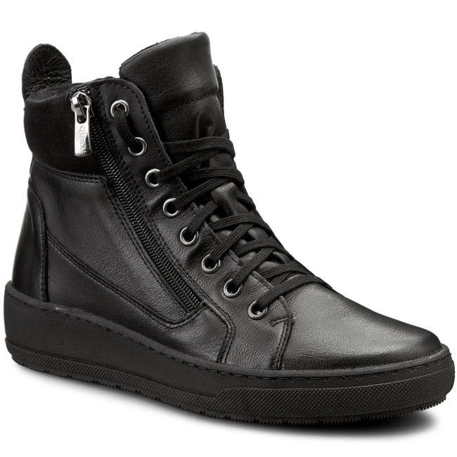 Sneakersy QUAZI - DELEKTA-05 Czarny