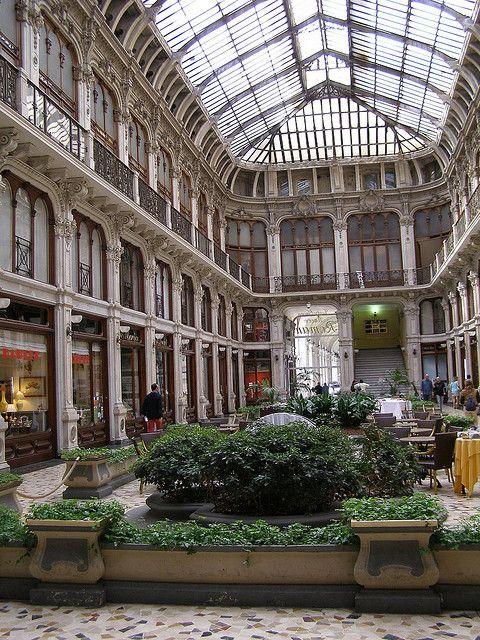 Galleria Subalpina, Piazza Castello, Turin, Italy