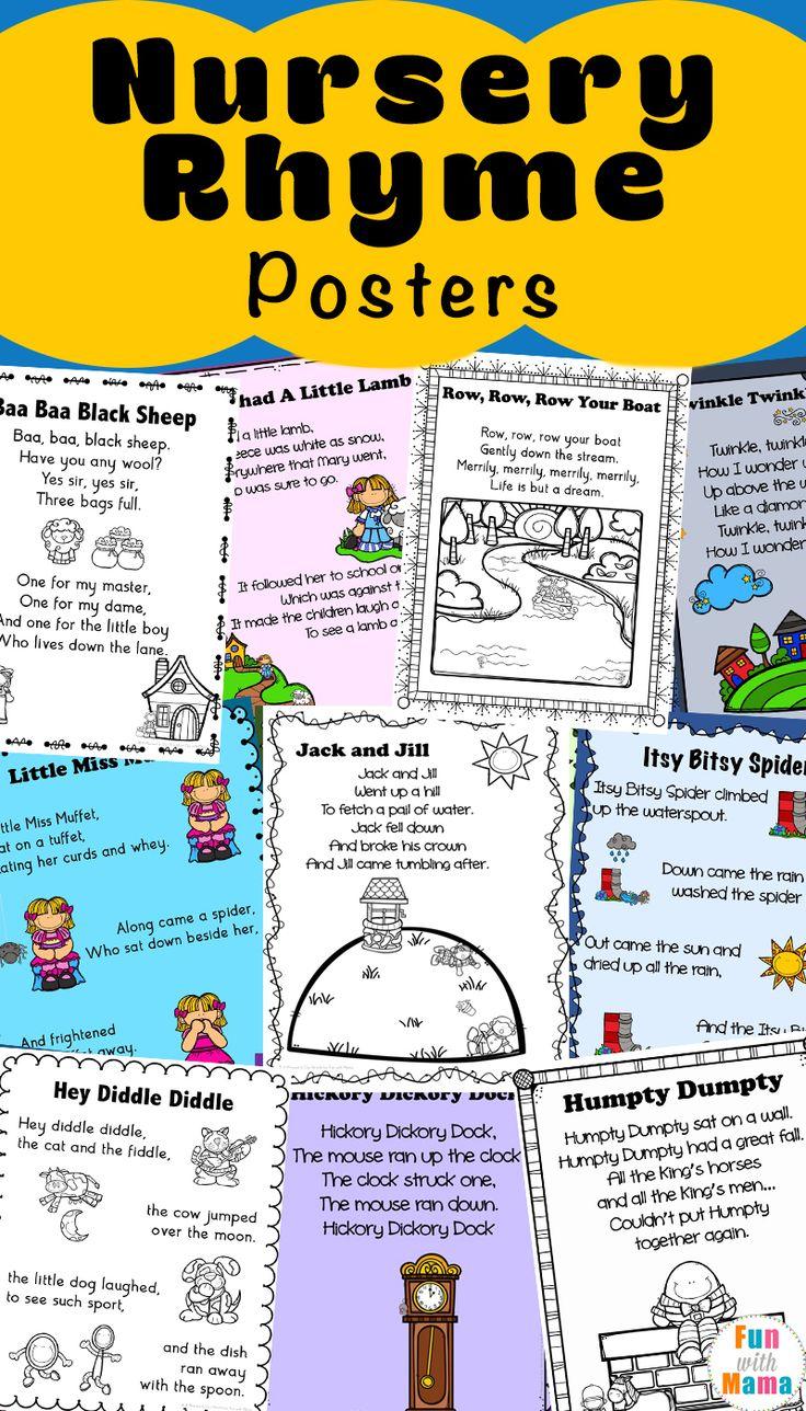 Nursery Calendar Ideas : Best nursery rhymes images on pinterest preschool