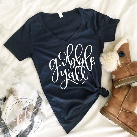 By Popular Demand Our Hand Lettered Designs Are Now Available For Happy Crafters Like You This Listing Is For One Gobble Yall Hand Lett Hand Lettered Svg