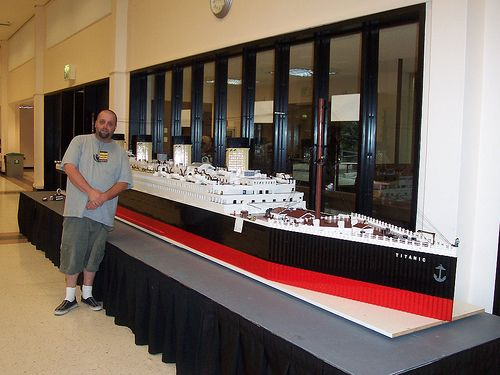 how to build a lego titanic instructions