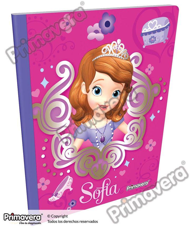 Cuaderno Cosido Infantil Princesita Sofía http://escolar.papelesprimavera.com/product/cuaderno-cosido-infantil-sofia-primavera-6/