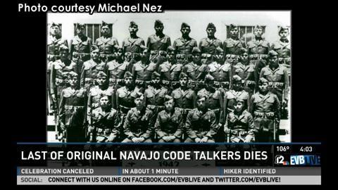 Last Navajo Code Talker Dies