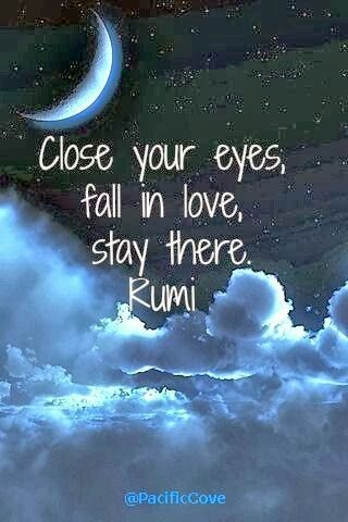 Close ur eyes fall in love