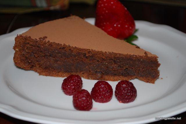 Итальянский шоколадный торт Амаретто