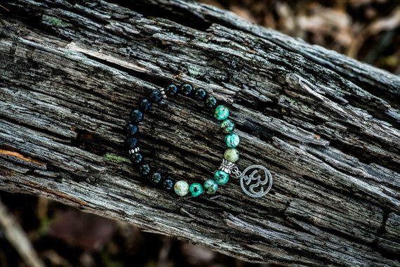 WISDOM Aromatherapy Gemstone Diffuser Bracelet by KARHIcollection