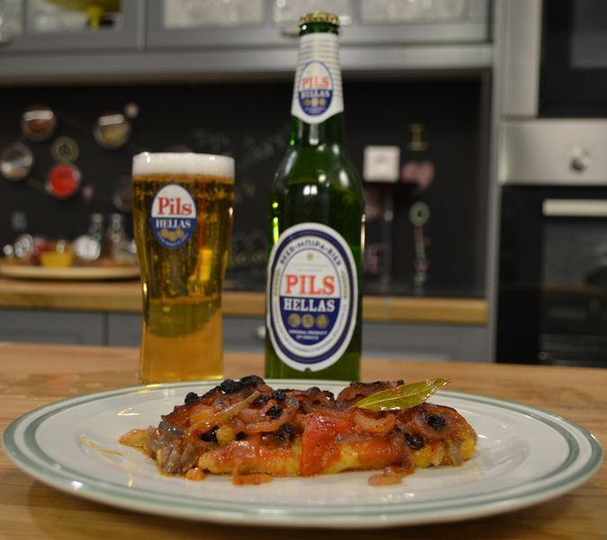 Ένα υπέροχο πιάτο εξαιρετικής νοστιμιάς. Η λεπτομέρεια που θα κάνει τη διαφορά στη συγκεκριμένη συνταγή είναι η ξανθιά μπίρα που θα δώσει ξεχωριστή νότα στη σάλτσα σας.