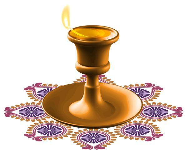Pin by Pink Maiden on ClipArt | Diwali candles, Happy ...