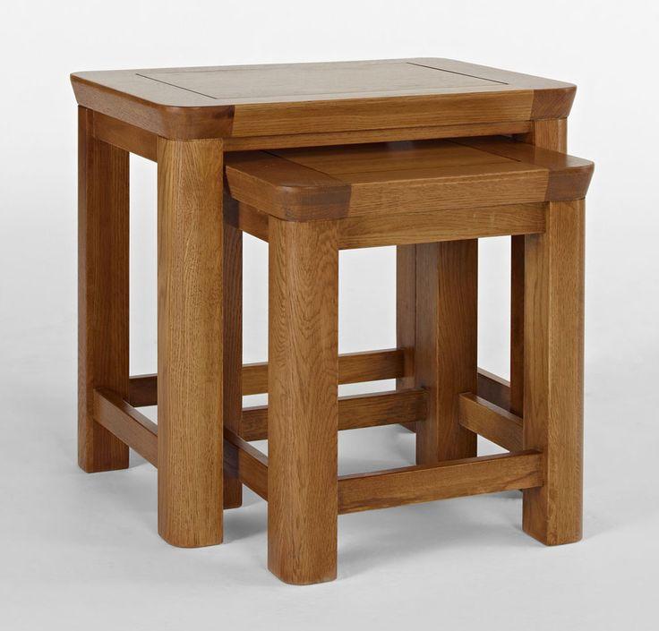 Knightsbridge Oak Table Nest