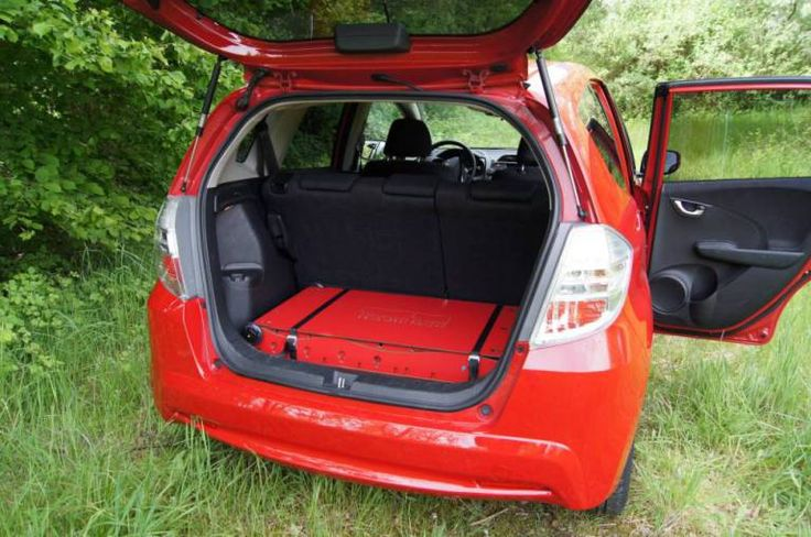 Pictured -The  Swiss Room Box that sits in the boot of a car and folds out to a bed and other useful tools. See Ross Parry copy RPYSWISS. This innovative idea will save you bags of V-ROOM as you convert your car into a camper. Whether at the side of a stream or the top of a mountain, the new Swiss Room Box revolutionises the motorhome and makes even the most compact of vehicles a dreamy place to stay. Modelled on a Swiss army knife, the design has a tool for every camping trip - including a…