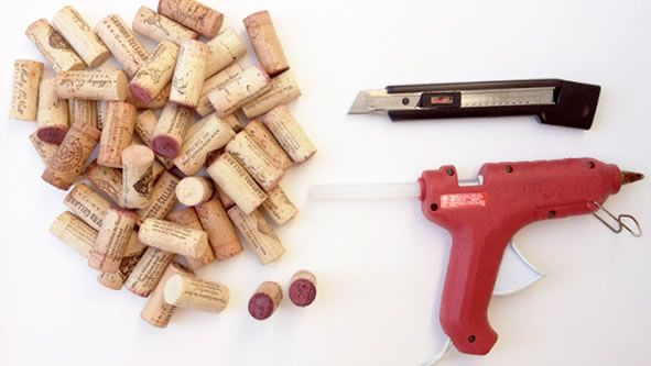 Ideia mega criativa para reutilizar rolhas de garrafas de vinho | Revista Artesanato