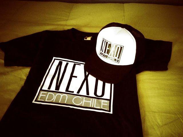 NEXO EDM CHILE: NEXO EDM Chile T-Shirt and Cap