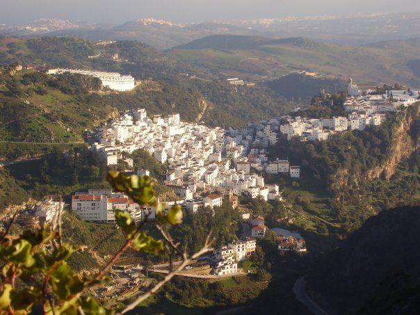 Casares vista desde sierra Crestellina. Año 2008
