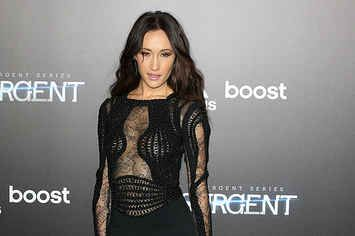 Maggie Q At The 'Insurgent' Premiere In NYC