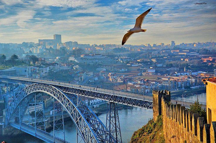 Ponte Luis I.       Porto Portugal