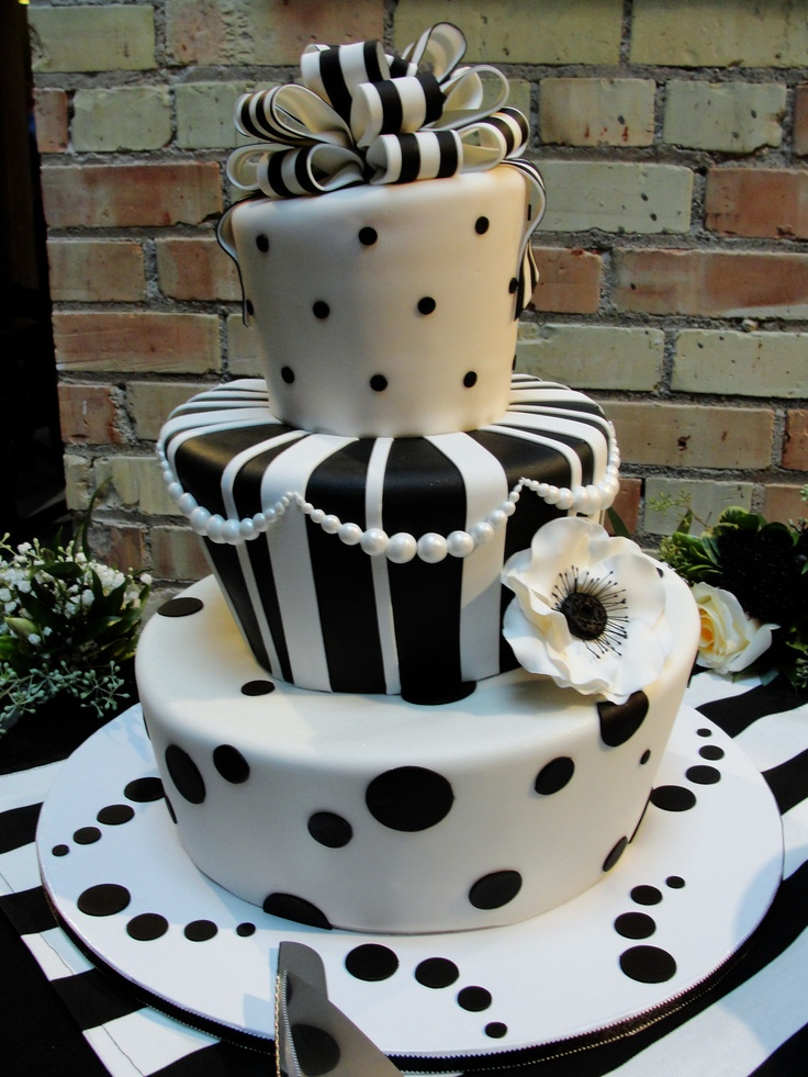 Black White Stripes Topsy Turvy Cake For The Cutest Wedding I Ve Seen In A Long Time The Cake Was Chocolate With Raspberry Butter Cream