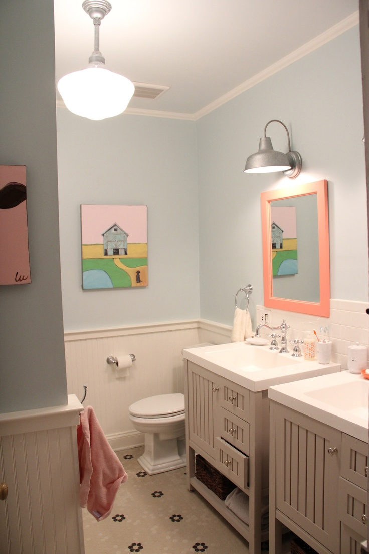 Kids Bathroom Vanities 53 Best Images About Kids Bathroom On Pinterest Wainscoting