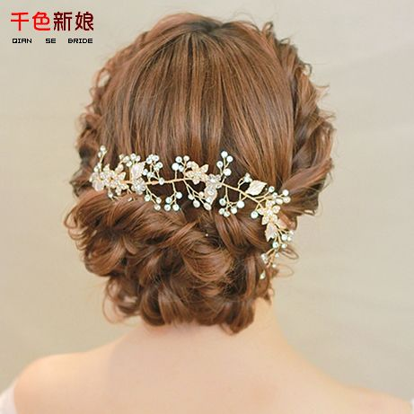 HB05 Cheap jewelry tree necklace holder, Buy Quality jewelry box accessories directly from China accessories dell Suppliers: Luxurious Gold Color Headband Tiara Women forehead pearl jewelry hairband floral hair ornaments Bride Gifts Wedding Acce