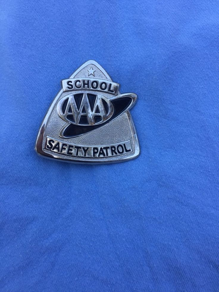 AAA School Safety Patrol Badge Collectibles