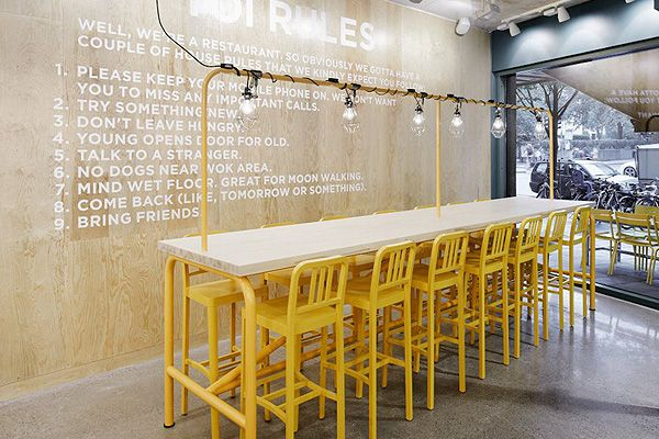 + YOI Fast Food Restaurant by Lomar Arkitekter