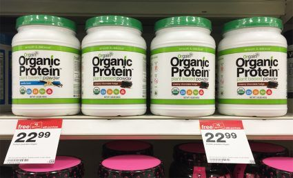 Orgain Organic Protein Powder, Only $7.99 at Target!