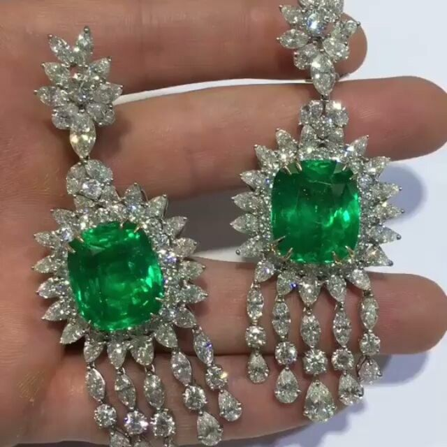 """#RepostSave @craigccooper with @repostsaveapp · · · Something from our """"less"""" affordable collection, grin. Goals! #diamonds #diamond #earrings #emerald #ring #engagementring #finejewelry #beverlyhills @petermarco90210 #saudiarabia #saudistyle #miami #newyork #sanfrancisco #newyears #luxury #luxurylifestyle #luxurylife #luxe #jewelry #jewelrydesigner #jewelrydesign #jewellery #jewels #gem #party"""