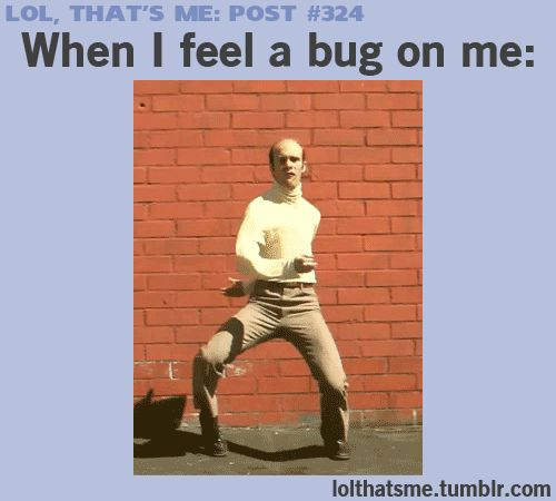Hahahaha, you've got to watch this video clip. This is so me and I'm sure most of you. Lol
