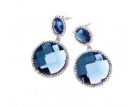 Blue earrings Ottaviani Bijoux SHOP NOW!: http://www.milkymou.com/en/woman/1410-earrings-ottaviani-bijoux.html