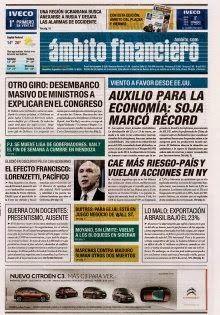 OpinionPublicaSantafesina(ops): diarios argentinos de hoy
