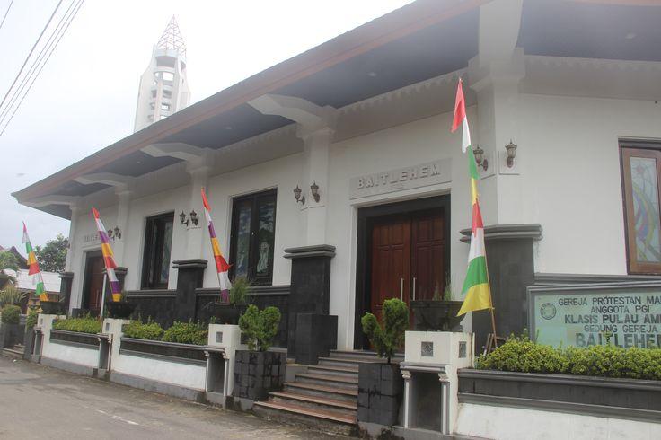 Church Hutumuri - Ambon