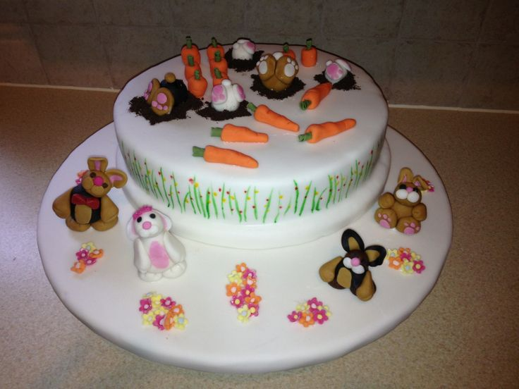 Carrot Cake with Citrus Cream Frosting Recipe