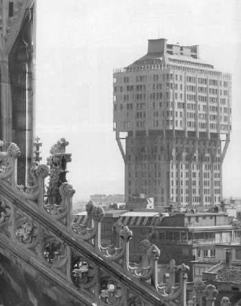 Torre Velasca , Milano (1956, BBPR)