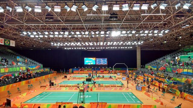 Pimenta de Açúcar : Diário Olímpico Rio 2016: Badminton 11/08!