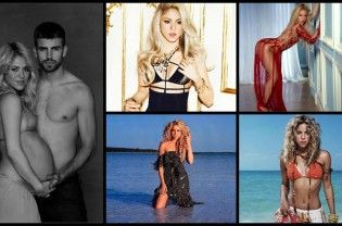 Happy Birthday, Shakira! The 'Hips Don't Lie' singer turned 39 today. Have a look at her hot and sizzling images: Hot and Sizzling Pictures of Shakira ◄ Back Next ► Picture 1 of 11  Read More