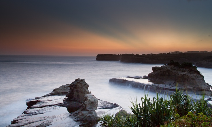 Klayar Beach Pacitan Indonesia