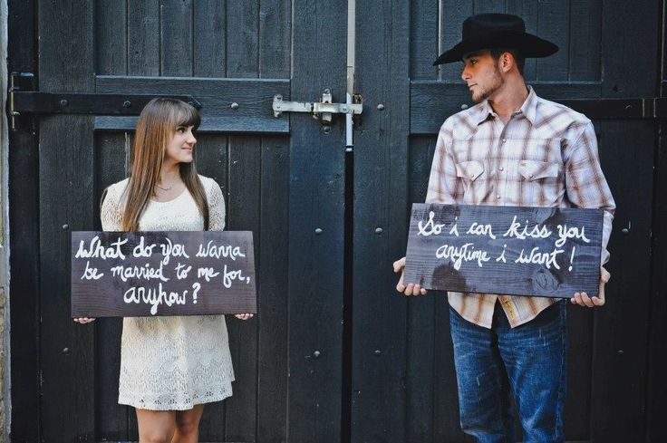 Engagement picture.