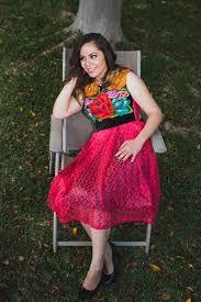 Resultado de imagen para vestidos bordados oaxaca