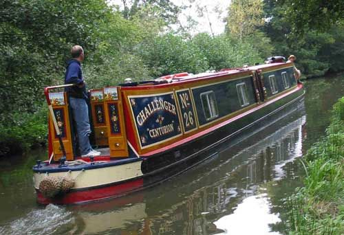 Serenity on the British canals.