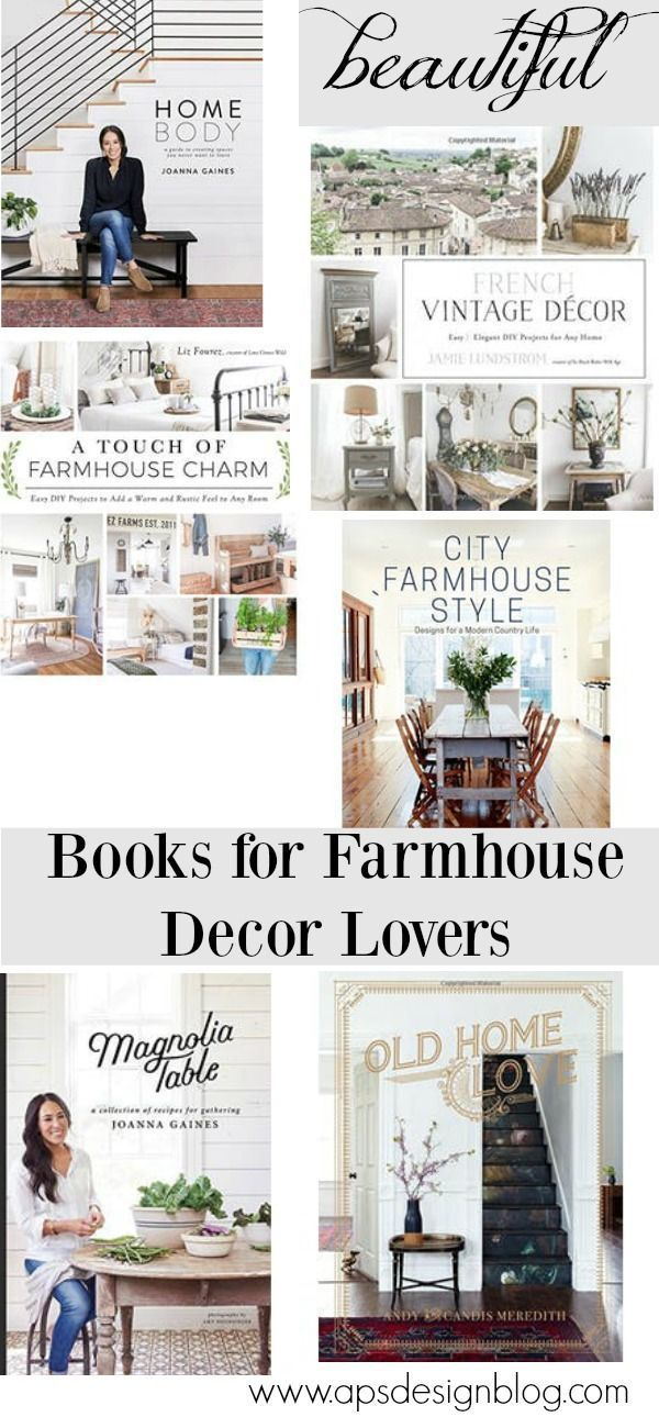 Beautiful Book Guide For The Joanna Gaines On Your List Farmhouse