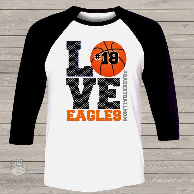 basketball shirt, custom basketball mom raglan shirt