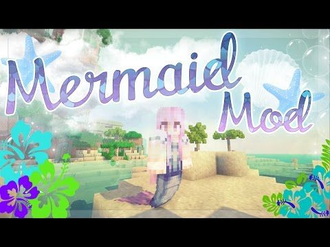 Mermaid Tail Mod 1.7.10/1.7.2/1.6.4 | Minecraft Mods | Minecraft 1.8.8, 1.8, 1.7.10